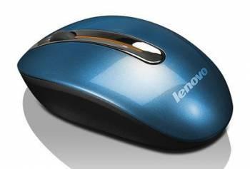 Мышь Lenovo N3903 коралловый / синий