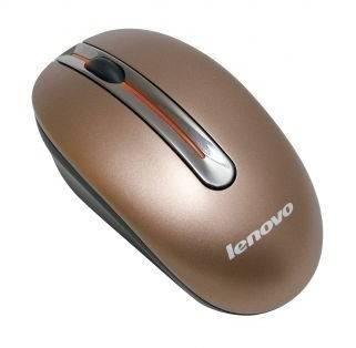 Мышь Lenovo N3903 кофейный