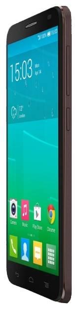 Смартфон Alcatel Idol 2 6037Y 8ГБ темно-коричневый - фото 2