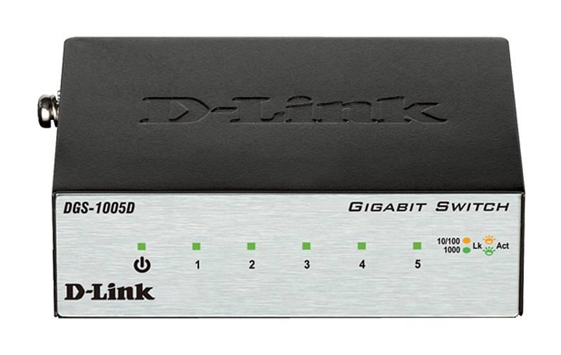 Коммутатор неуправляемый D-Link DGS-1005D/H2B - фото 2