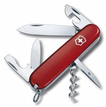 Нож со складным лезвием Victorinox Spartan красный (1.3603.B1)