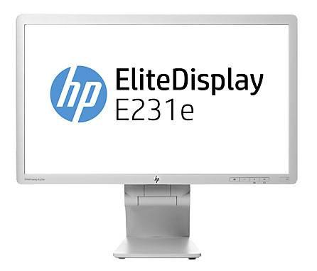 """Монитор 23"""" HP EliteDisplay E231e белый (G7D45AA) - фото 1"""