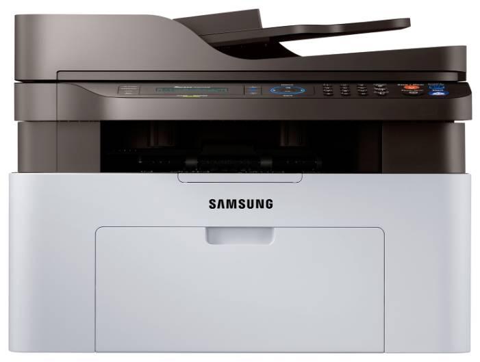 МФУ Samsung SL-M2070FW белый - фото 1