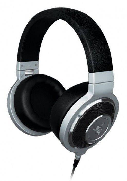 Наушники с микрофоном Razer Kraken Forged Edition черный/серебристый - фото 1