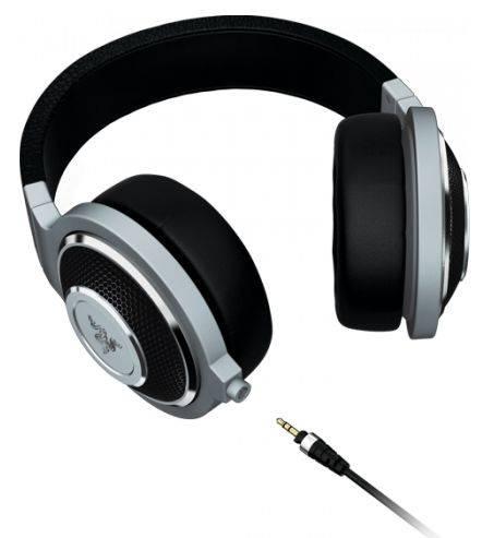 Наушники с микрофоном Razer Kraken Forged Edition черный/серебристый - фото 2