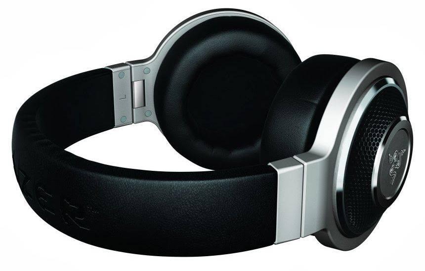 Наушники с микрофоном Razer Kraken Forged Edition черный/серебристый - фото 3