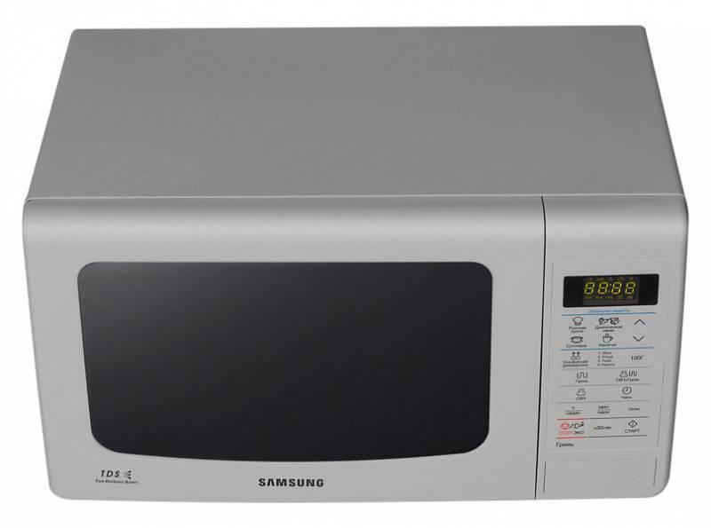 СВЧ-печь Samsung GE83KRS-3 серебристый - фото 3