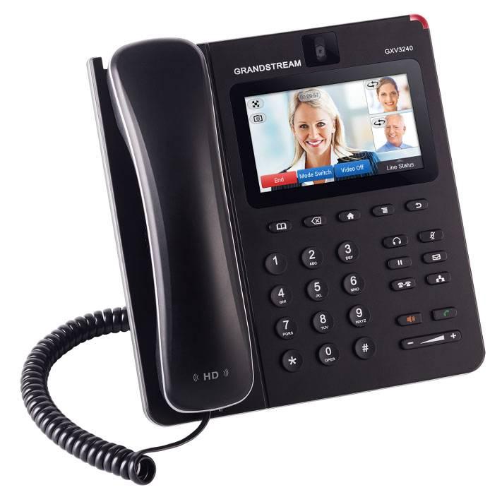 Телефон IP Grandstream GXV-3240 серый - фото 1