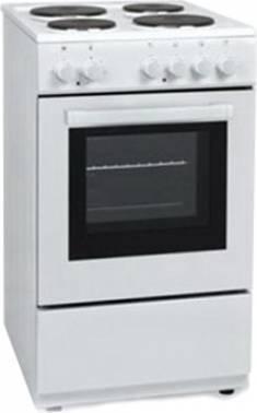 Плита электрическая Vestel VC E55W белый