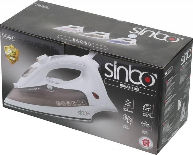Утюг Sinbo SSI 2853 фиолетовый - фото 7