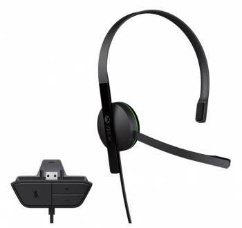 Гарнитура проводная Microsoft Xbox One Microsoft Chat Headset (S5V-00012)