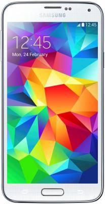 Смартфон Samsung Galaxy S5 Duos SM-G900FD 16ГБ белый - фото 1
