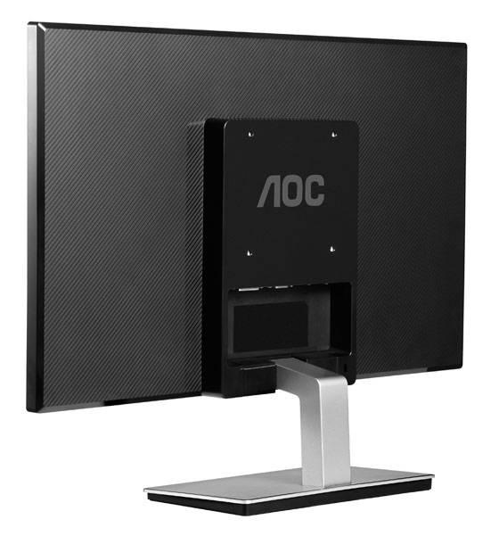 """Монитор 23.6"""" AOC i2476Vw(00/01) черный - фото 6"""