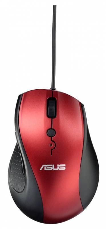 Компьютерная мышь ASUS UT415  оптическая USB красный - фото 1