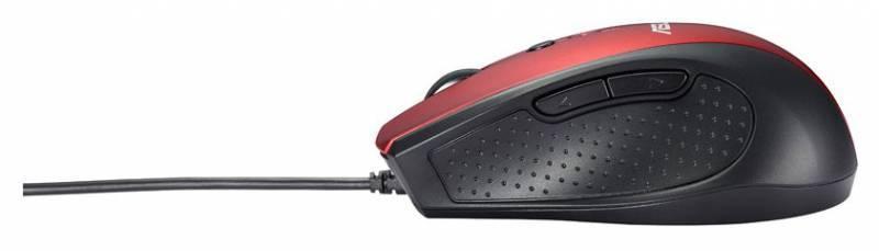 Компьютерная мышь ASUS UT415  оптическая USB красный - фото 4