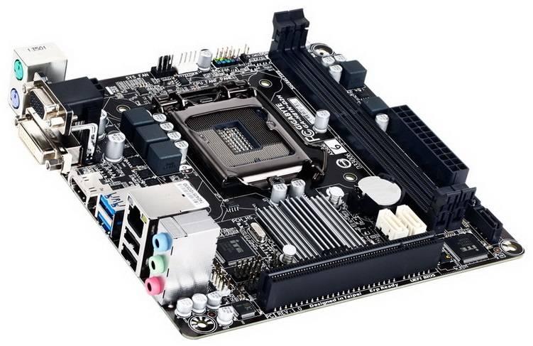Материнская плата Soc-1150 Gigabyte GA-H81N-D2H mini-ITX - фото 1
