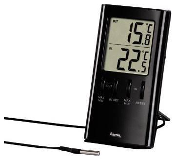 Термометр Hama Т-350 H-123143 черный - фото 1