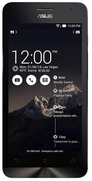 Смартфон Asus Zenfone 5 LTE A500KL 16ГБ черный - фото 1