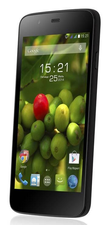 Смартфон Fly Evo Tech 3 Quad IQ4414 4ГБ черный - фото 1