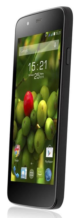 Смартфон Fly Evo Tech 3 Quad IQ4414 4ГБ черный - фото 2