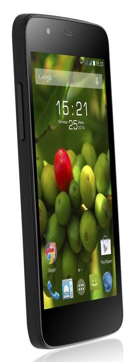 Смартфон Fly Evo Tech 3 Quad IQ4414 4ГБ черный - фото 3