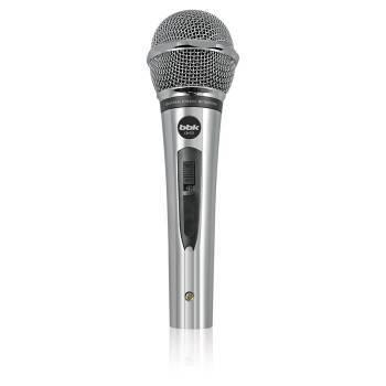 Микрофон BBK CM131 серебристый