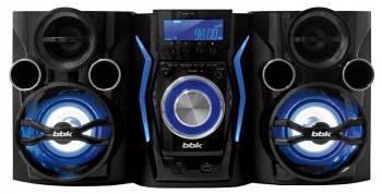 Минисистема BBK AMS110BT черный / темно-синий