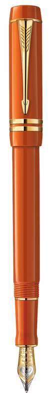 Ручка перьевая Parker Duofold International Historical Colors F74 Big Red GT (1907190) - фото 1