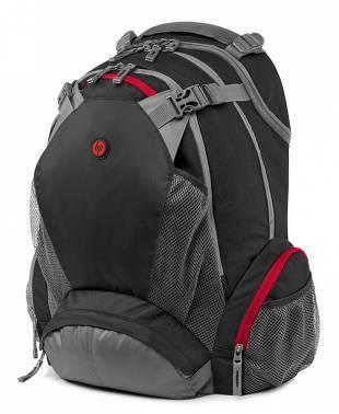 """Рюкзак для ноутбука 17.3"""" HP Full Featured черный (F8T76AA)"""
