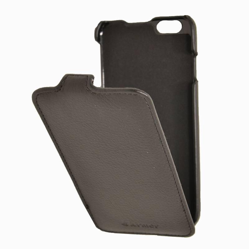 Чехол Armor-X flip full, для Apple iPhone 6, черный - фото 3