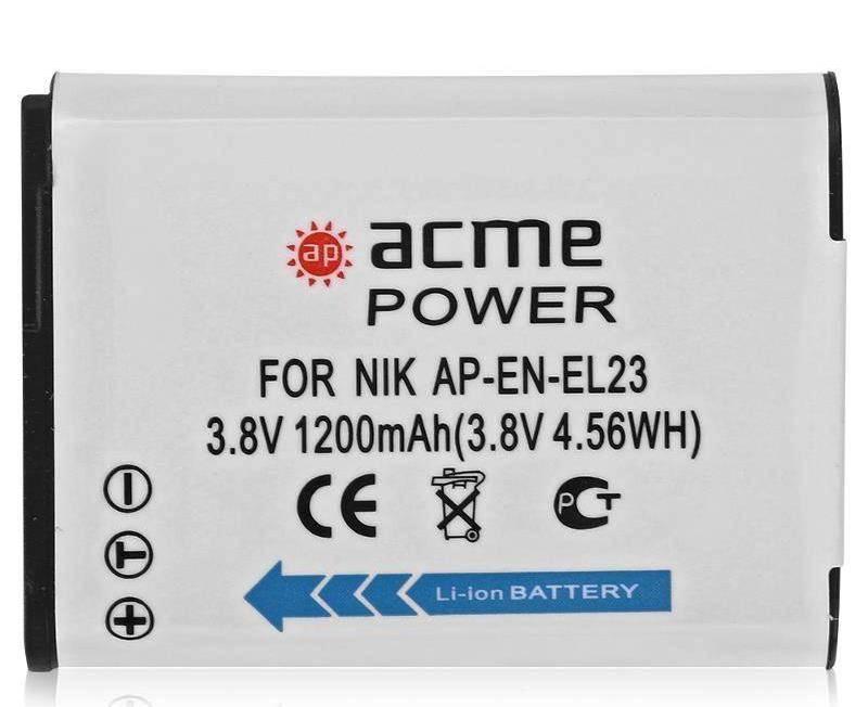 Аккумулятор для видеокамер AcmePower AP-EN-EL23 - фото 1