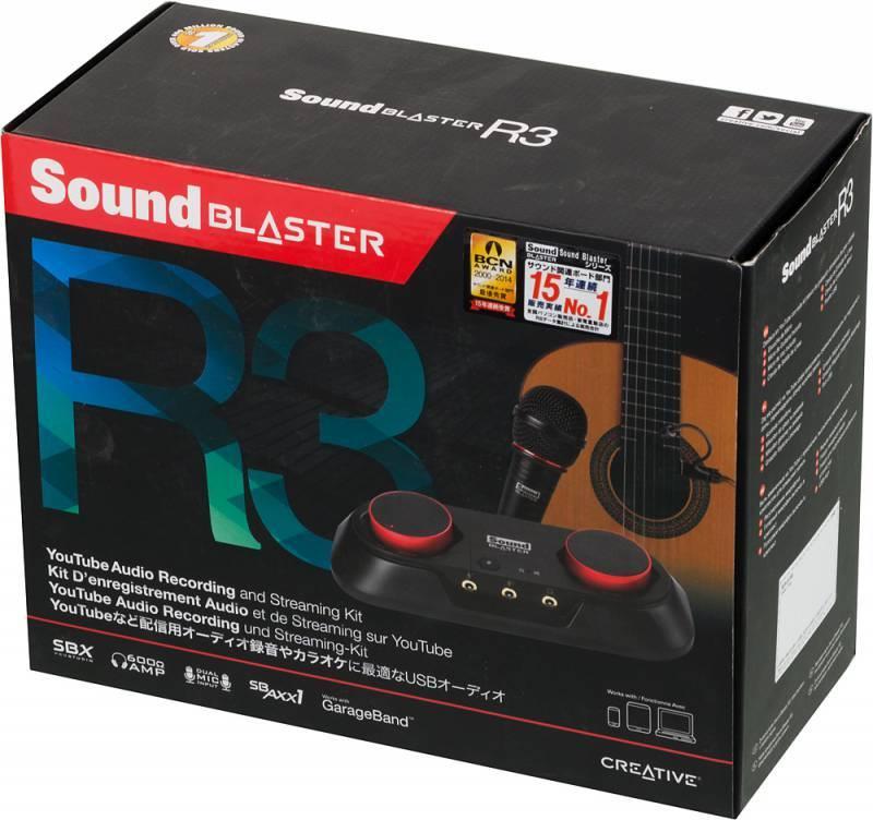 Звуковая карта USB Creative Sound Blaster R3 (70SB154000000) - фото 3