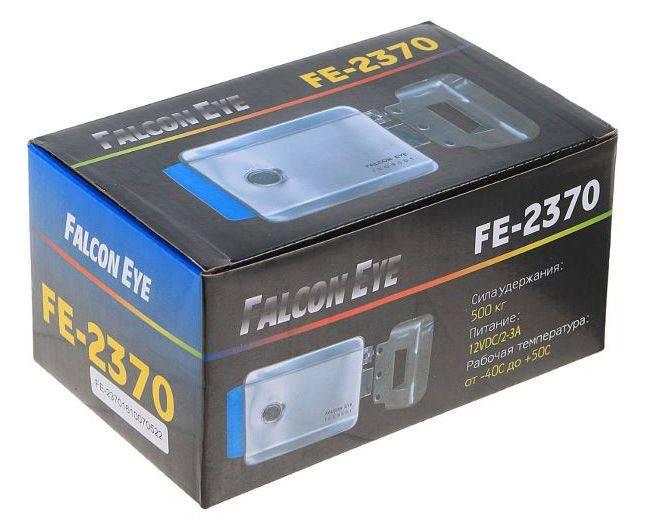 Замок электромеханический Falcon Eye FE-2370 серебристый - фото 5