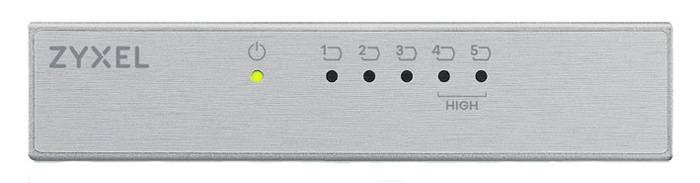 Коммутатор неуправляемый Zyxel ES-105A v3 ES-105AV3-EU0101F - фото 1