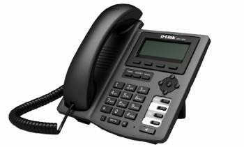 Телефон IP D-Link DPH-150S/F* черный