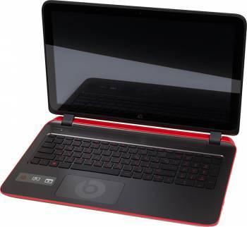 Ноутбук 15.6 HP Pavilion 15-p102nr черный / красный