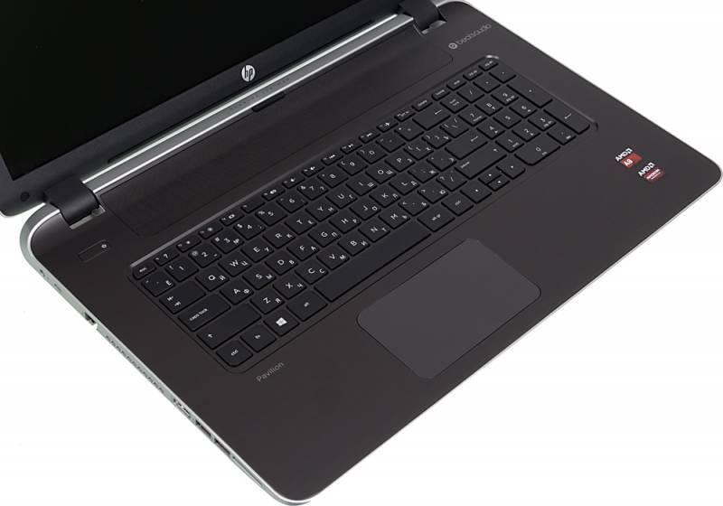 "Ноутбук 17.3"" HP Pavilion 17-f103nr (K5F12EA) серебристый - фото 6"