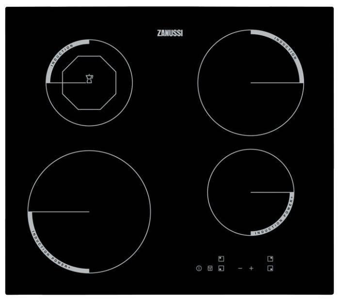 Варочная поверхность Zanussi ZEI 5680 FB черный (ZEI5680FB) - фото 1