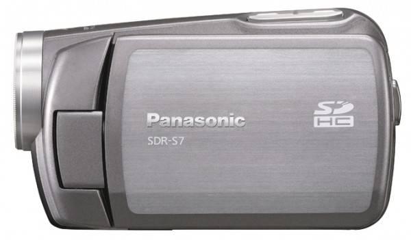 Видеокамера Panasonic SDR-S7EE серебристый - фото 3