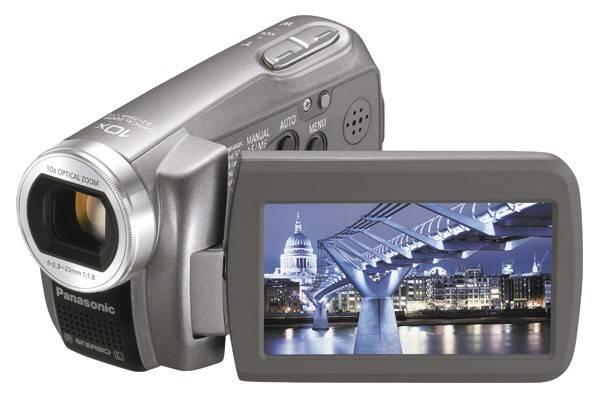 Видеокамера Panasonic SDR-S7EE серебристый - фото 1