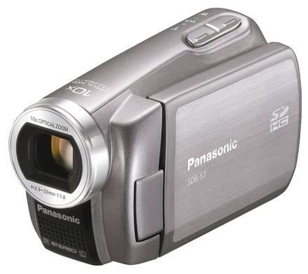 Видеокамера Panasonic SDR-S7EE серебристый - фото 2