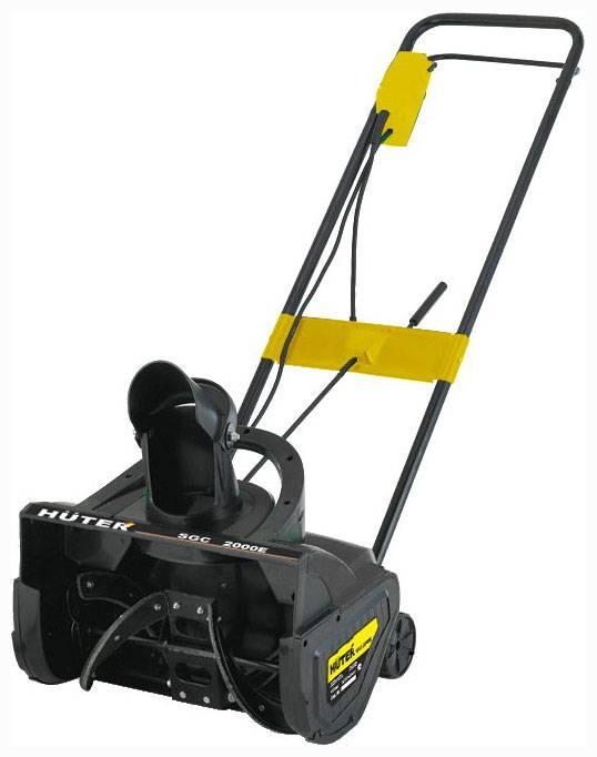 Снегоуборщик электрический Huter SGC 2000E 2.0кВт - фото 1