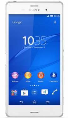 Смартфон Sony Xperia Z3 D6603 16ГБ белый