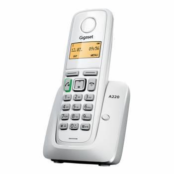 Р/Телефон Dect Gigaset A220 белый, радио трубок: 1шт