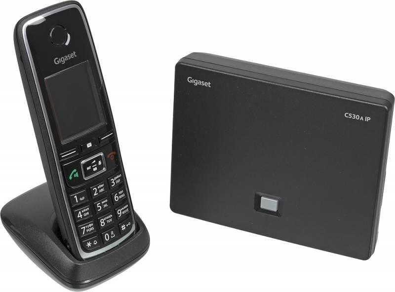 Телефон IP Gigaset C530A IP черный - фото 2