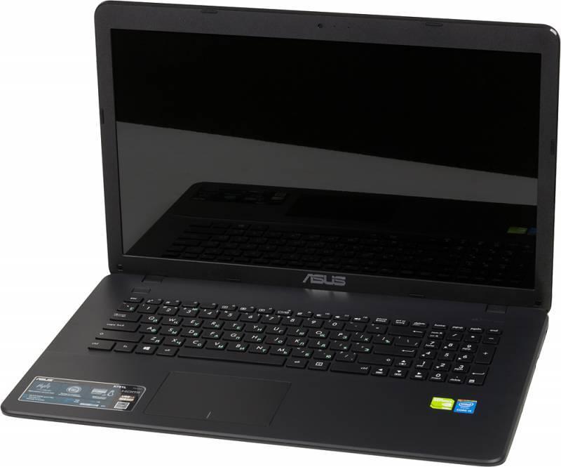 """Ноутбук 17.3"""" Asus X751LDV-TY155H черный - фото 5"""