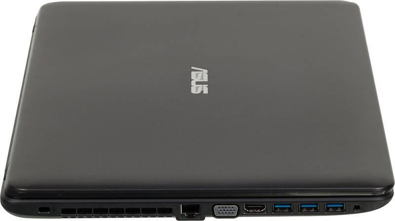 """Ноутбук 17.3"""" Asus X751LDV-TY155H черный - фото 8"""