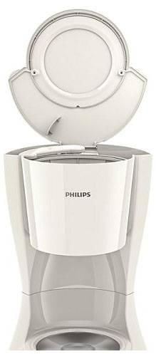 Кофеварка капельная Philips HD7447/00 белый - фото 3