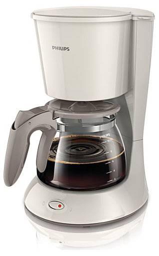 Кофеварка капельная Philips HD7447/00 белый - фото 1