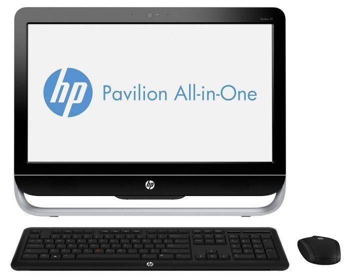 "Моноблок 23"" HP Pavilion 23-g104nr черный/серебристый - фото 1"